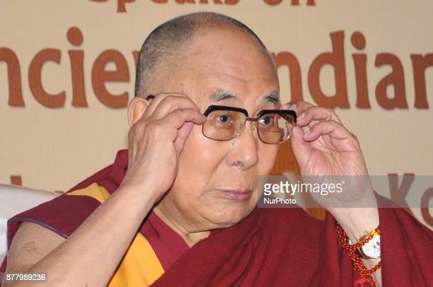His Holiness The Dalai Lama speaks at the Indian chamber of Commerce Program of quotHis Holiness the Dalai Lama Speaks on quotRevival of Ancient...