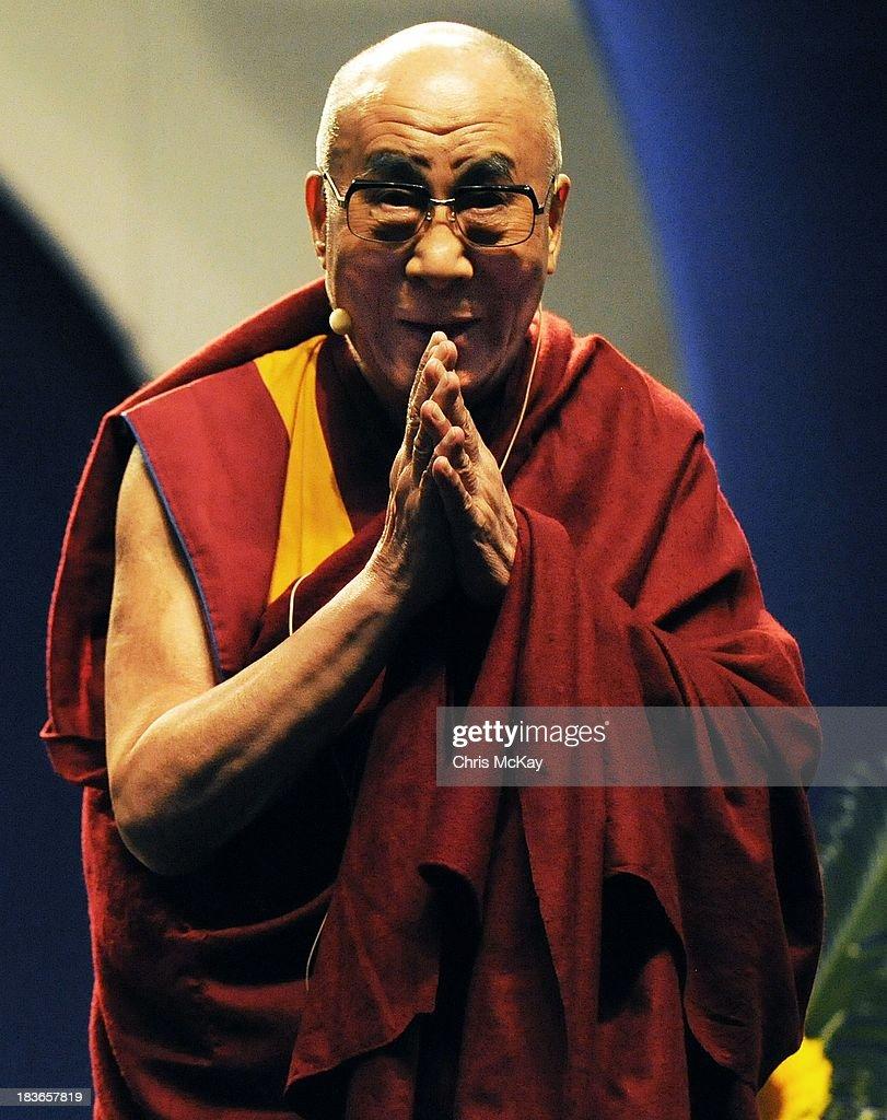 His Holiness The XVI Dalai Lama Visits Emory University - Day 1 : News Photo