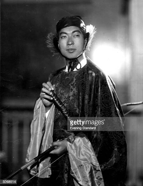 His Imperial Highness Prince Chichibu son of Emperor Yoshihito of Japan The Prince lives in England