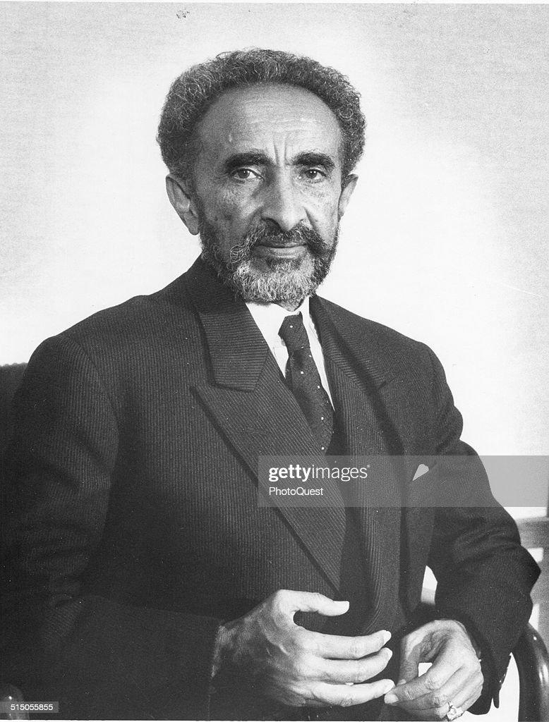His Imperial Majesty Haile Selassie I, Emperor of Ethiopia (1892 - 1975), Washington DC, 1966.