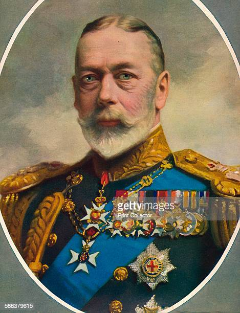His Late Majesty King George V' 1936 From The Illustrated London News Record of the LyinginState and Funeral of his late Majesty King George V Volume...