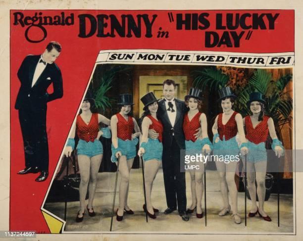 His Lucky Day lobbycard Reginald Denny 1929