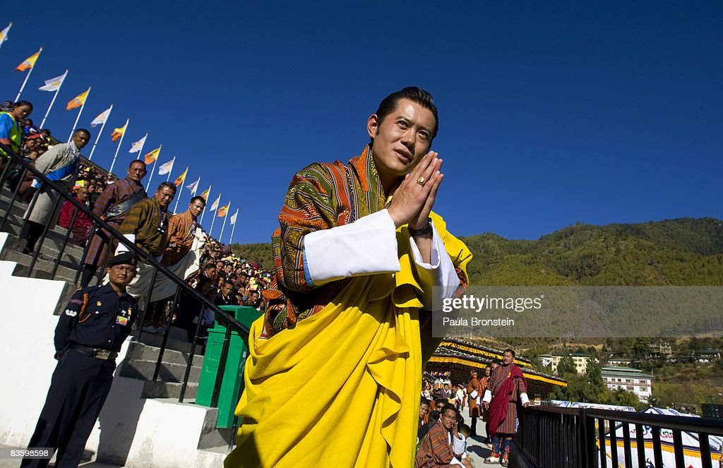 Bhutan Crowns The World's Youngest Monarch : News Photo