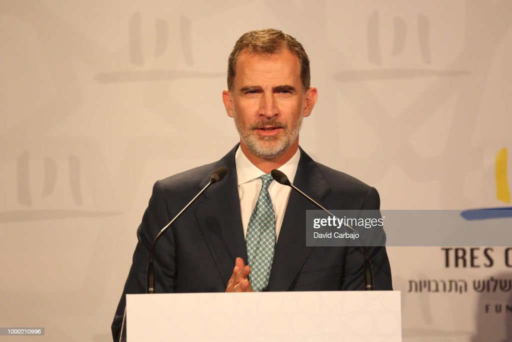 King Felipe of Spain Attends WOCMES 2018