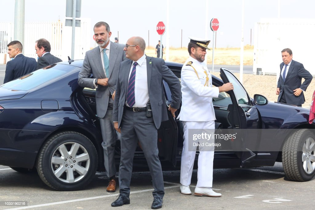 King Felipe Of Spain Inaugurates The New Ybarra Factory in Seville