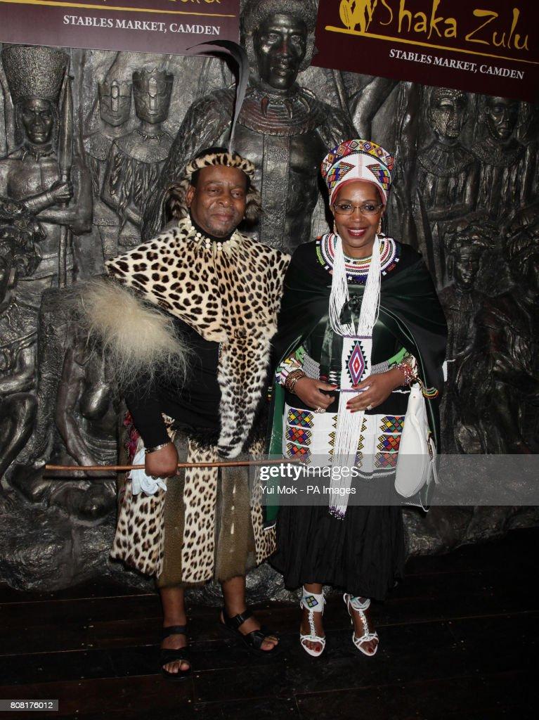 Shaka Zulu Shop Opening - London : News Photo