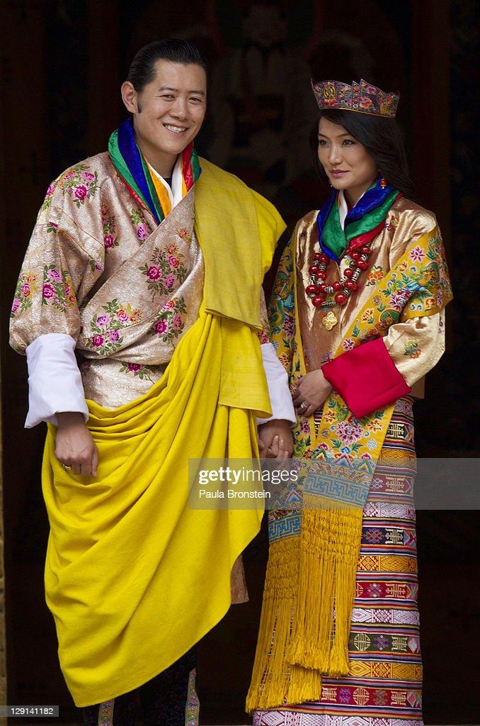 Bhutan Celebrates As The King Marries : Nieuwsfoto's