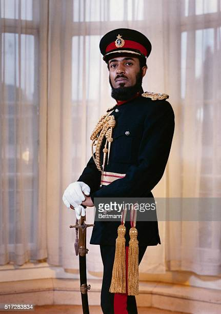 His Majesty Sultan of Oman, Qaboos Bin Sa'id.