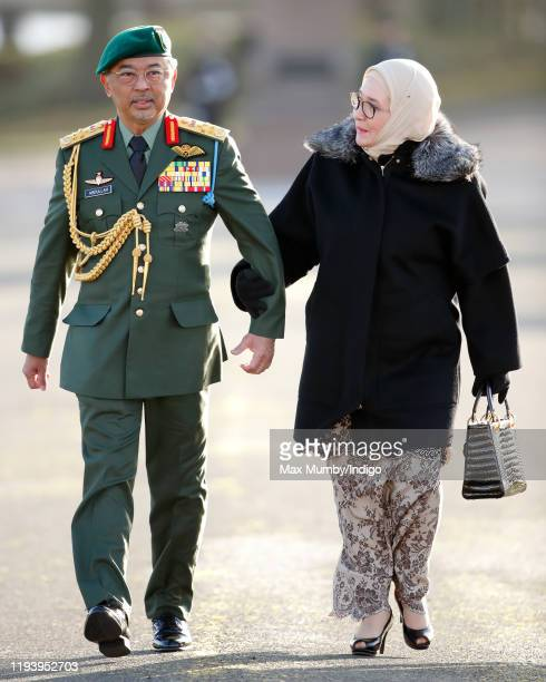 His Majesty Yang diPertuan Agong AlSultan Abdullah Ri'ayatuddin AlMustafa Billah Shah of Malaysia and Her Majesty Raja Permaisuri Agong Tunku Hajah...