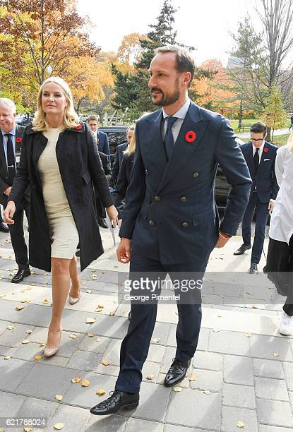 His Royal Highness Crown Prince Haakon and Her Royal Highness Crown Princess MetteMarit attend parallel music and literature industry seminars at...