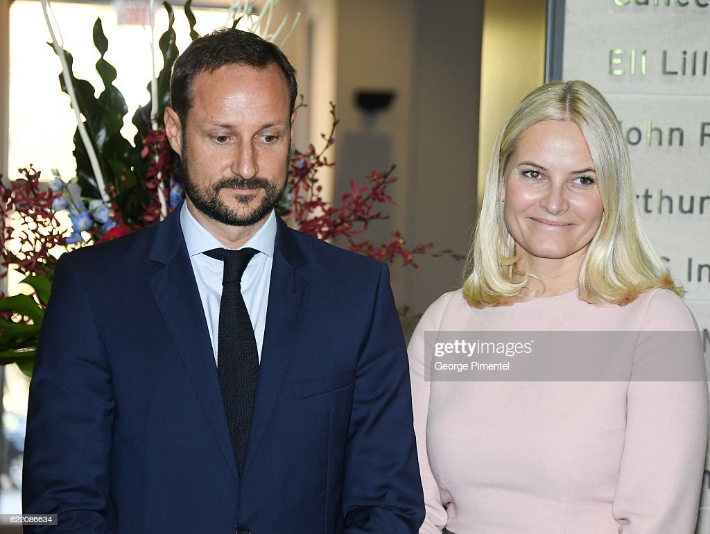 His Royal Highness Crown Prince Haakon and Her Royal Highness Crown Princess Mette-Marit attend Fram Medtech and Start-up Initiative during their Royal Tour of Canada on November 8, 2016 in Toronto, Canada.