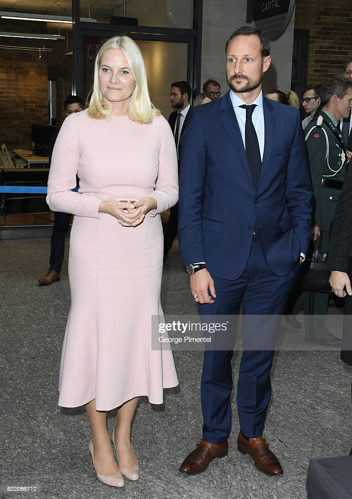 Official Visit Of His Royal Highness Crown Prince Haakon And Her Royal Highness Crown Princess Mette-Marit To Canada : News Photo