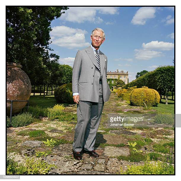 His Royal Highness Prince Charles is photographed at Highgrove for Vanity Fair Magazine on June 21 2010 in Gloucestershire England PUBLISHED IN...