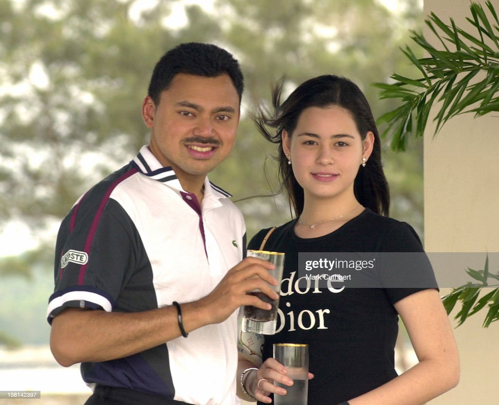 His Royal Highness Prince Haji Al-Muhtadee Billah, The Crown Prince Of Brunei Darussalam & Dayangku Sarah Binti Pengiran Salleh Ab Rahaman : News Photo