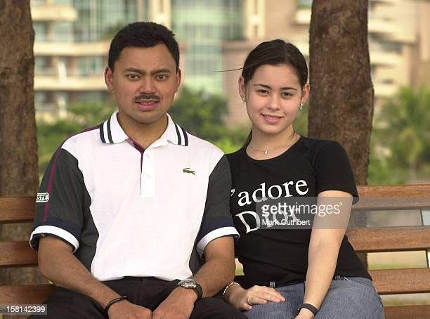 His Royal Highness Prince Haji AlMuhtadee Billah The Crown Prince Of Brunei Darussalam And Princess Dayangku Sarah Binti Pengiran Salleh Ab Rahaman