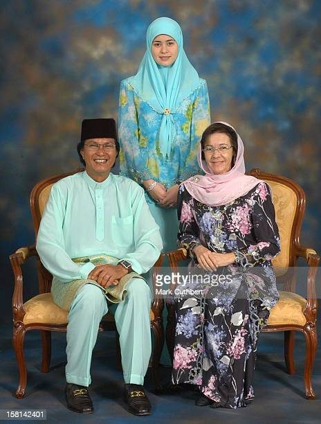 His Royal Highness Prince Haji AlMuhtadee Billah The Crown Prince Of Brunei Darussalam And Princess Dayangku Sarah Binti Pengiran Salleh Ab Rahaman...