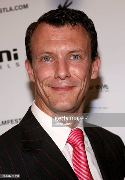 His Royal Highness Prince Joachim of Denmark during His Royal Highness Prince Joachim of Denmark Visits The Danish Film Festival at Aero Theatre in...