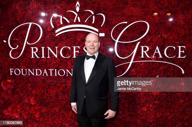 His Serene Highness Prince Albert II of Monaco attends the 2019 Princess Grace Awards Gala on November 25 2019 in New York City