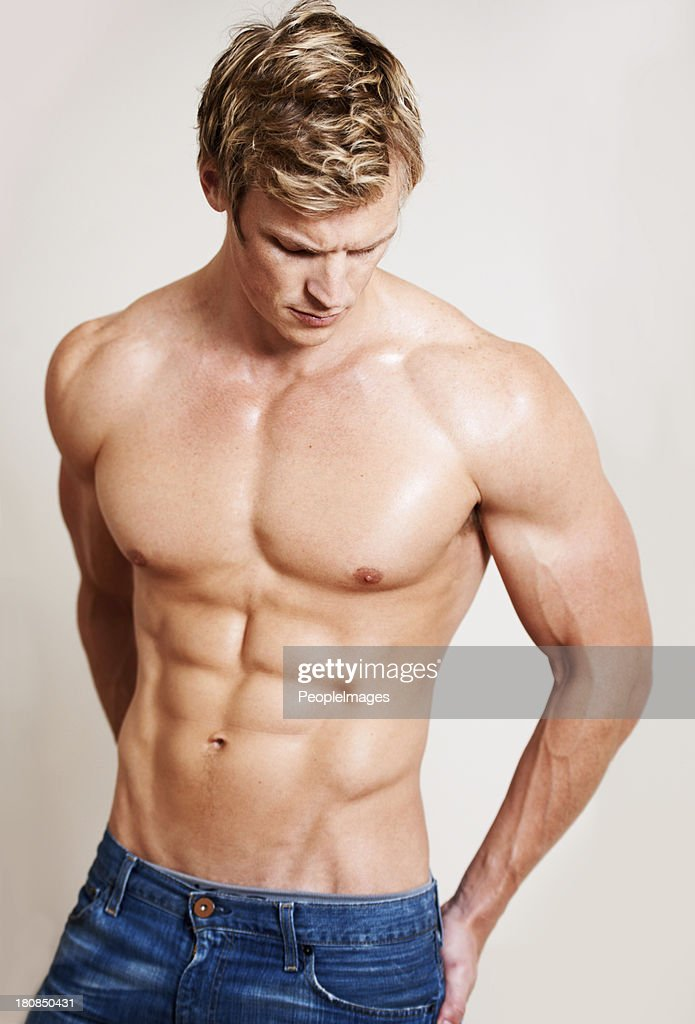 f266f269285e4c His workout paid off   Stock Photo