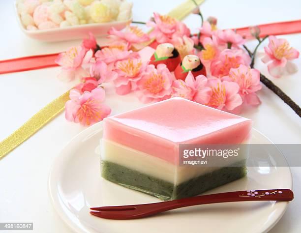 Hishi-mochi (Lozenge-shaped rice cake)