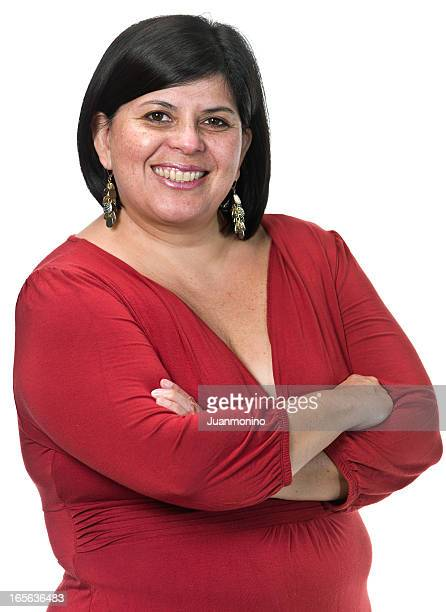 Hispanic business Frau