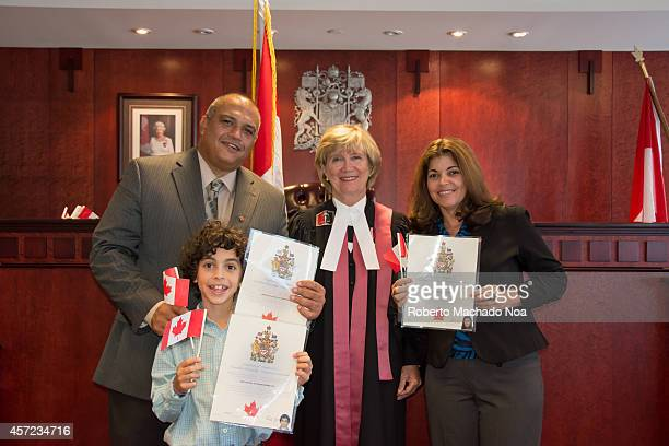 CENTRE SCARBOROUGH ONTARIO CANADA Hispanic family becomes Canadian citizensCanadian nationality law determines who is granted to A permanent resident...