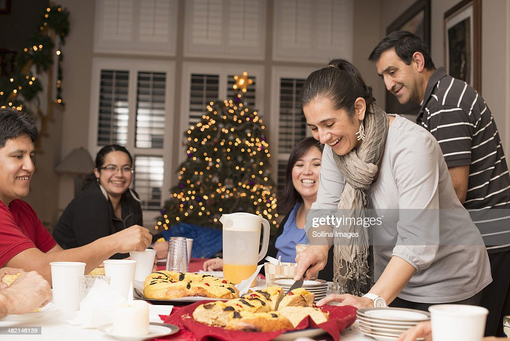Traditional Hispanic Family