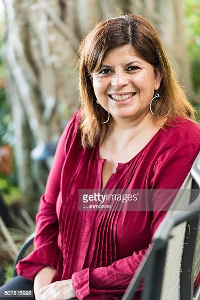 Hispanic forty something woman