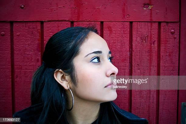 Hispanic Admirez la vue