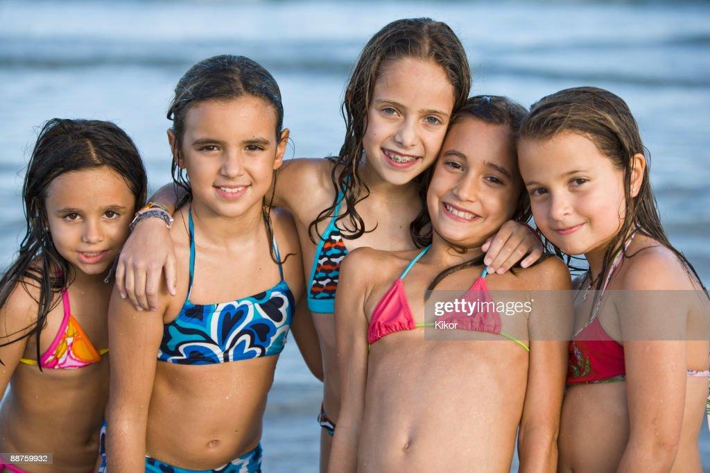 Bikini Girls At The Beach