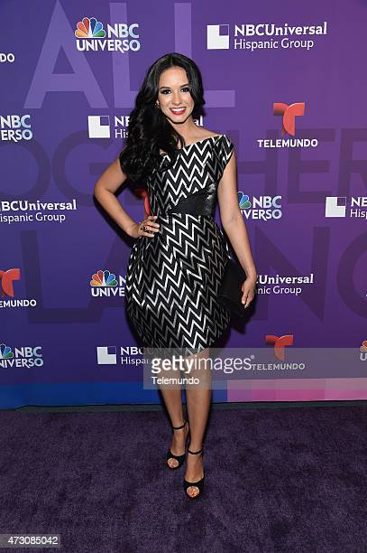 UPFRONT '2015 Hispanic Group Upfront at Jazz at Lincoln Center on Tuesday May 12 2015' Pictured Ana Jurka NBC Deportes