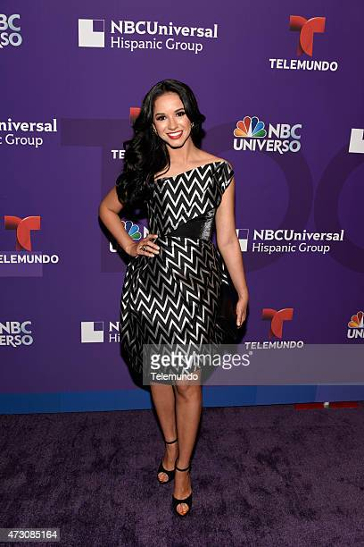 UPFRONT '2015 Hispanic Group Upfront at Jazz at Lincoln Center on Tuesday May 12 2015' Pictured Ana Jurka 'NBC Deportes'