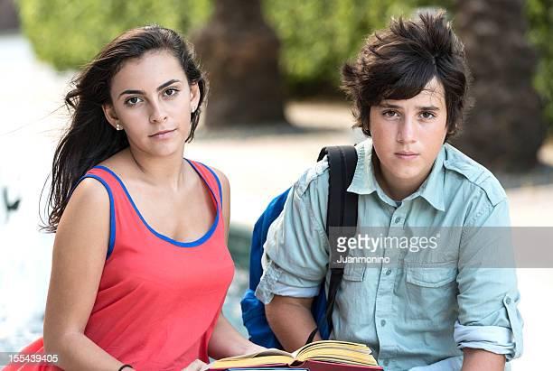 Hispanic high school students
