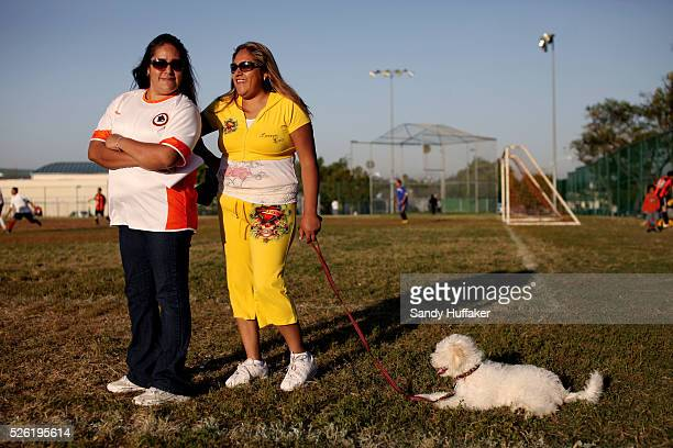 Hispanic ladies watch a soccer match in the City Heights section of San Diego CA on Tuesday May 15 2012 Between July 2010 and July 2011 minorities...