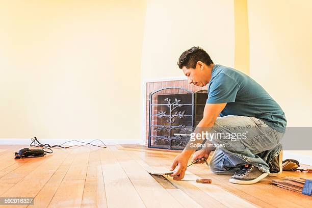 Flooring Installation Stock Pictures Royalty Free Photos Images