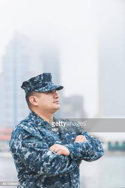 Hisoire homme vêtu de l'uniforme militaire