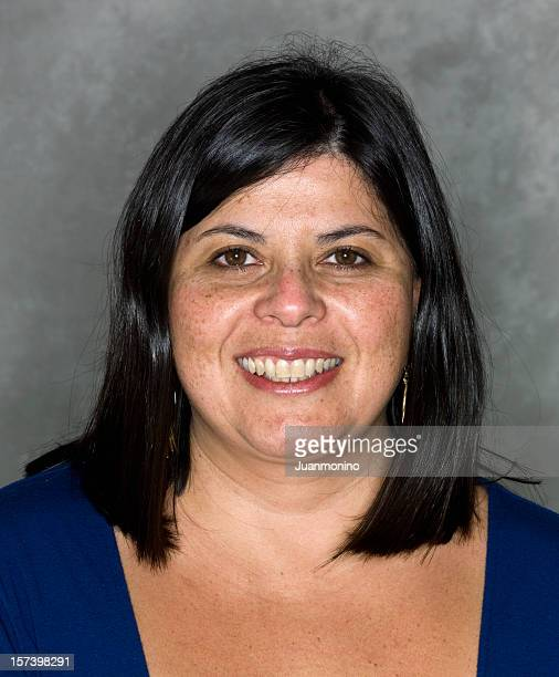 Hispanic woman at her forties