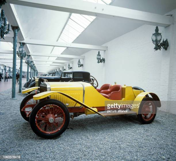 A Hispano Suiza Alfonso XIII from 1912 at the Schlumpf Museum in Mühlhausen Alsace | usage worldwide
