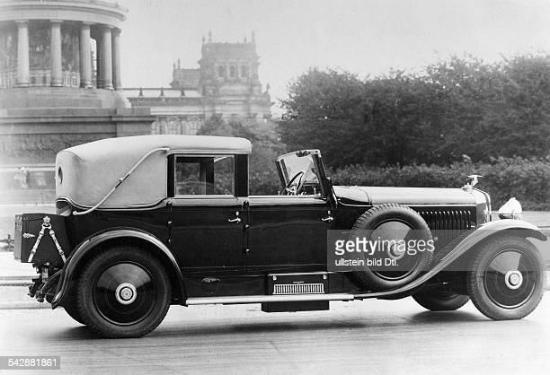 150PS Hispano Suiza CabrioletKarosserie Hibbard Darin Parisveröffentlicht in 'Dame' 3 / 1928