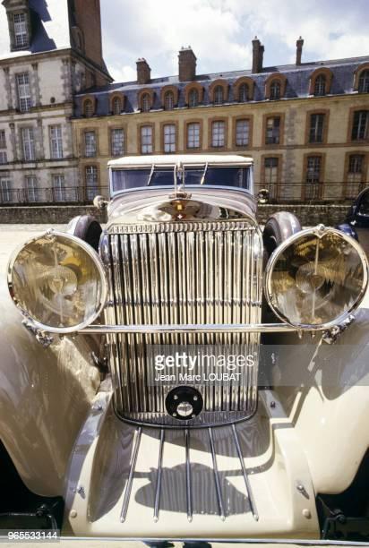 Hispano Suiza J12 datant de 1933 le 29 avril 1985 à Fontainebleau France
