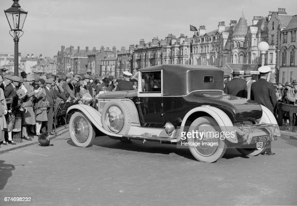HispanoSuiza 30 hp of M GrahamWhite at the Southport Rally 1928 Artist Bill Brunell