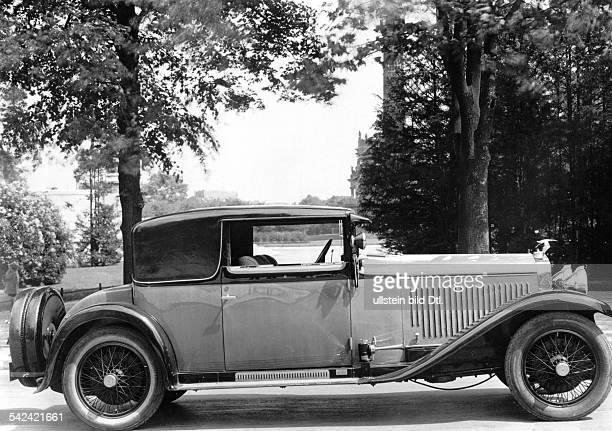 HispanoSuizaKabriolett 1928 veröffentlicht Dame 20 / 1928Foto Zander Labisch