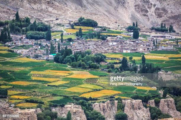Hispar Village, Hispar Nagar Valley, Biafo Hispar Snow Lake Trek, Central Karakoram National Park, Gilgit-Baltistan, Pakistan