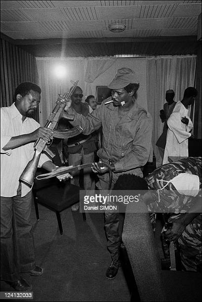 Hissein Habre in N'Djamena, Chad On February 20, 1979.