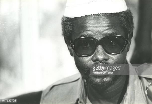 Hissène Habré in N'Djamena in Chad during the Hissène Habré coup d'etat, Chad, 4th June 1982.