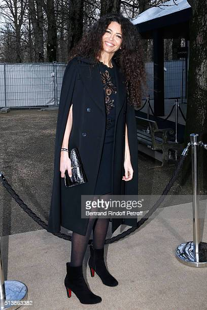 Hist Afef Jnifen attends the Elie Saab show as part of the Paris Fashion Week Womenswear Fall/Winter 2016/2017 on March 5 2016 in Paris France