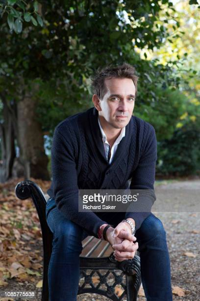 Historian and author Peter Frankopan is photographed for the Observer on November 9 2018 in London England