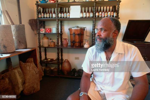 Historian and Curator of the Anguilla Heritage Collection
