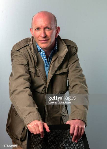 Historian and tv presenter Simon Sebag Montefiore is photographed at the Stratford Literary Festival on February 5, 2015 in Stratford-upon-Avon,...