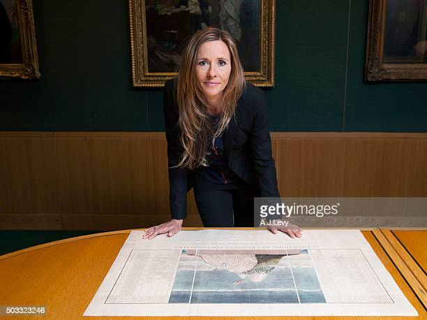 Historian and writer Andrea Wulf is photographed for BBC History magazine on July 28 2015 in London England